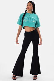 SHARKS Cropped Tee