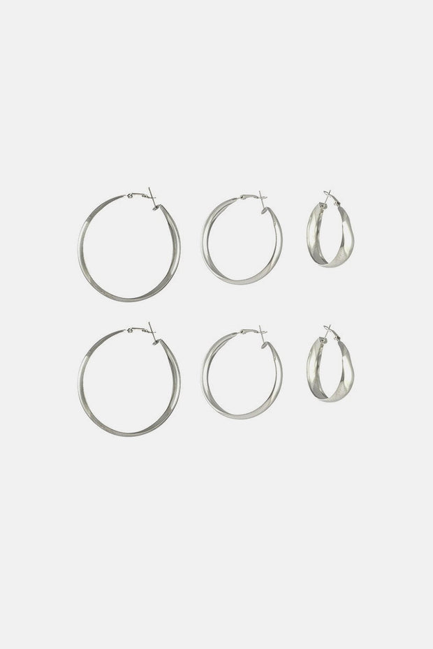 Senorita 3-Pack Hoop Earrings