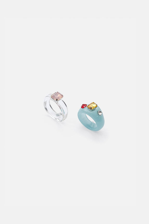 Misty 2-Pack Rings