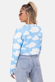 Cloudy Cropped Top