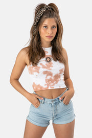 Solar Ribbed Crop Top