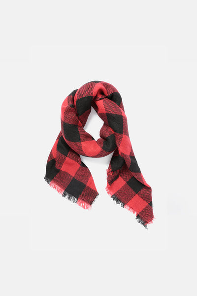 Spoon Plaid Scarf