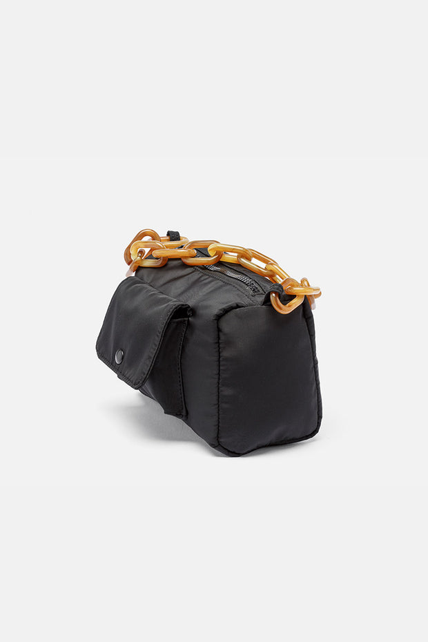 Chunky Chain Nylon Carry Bag