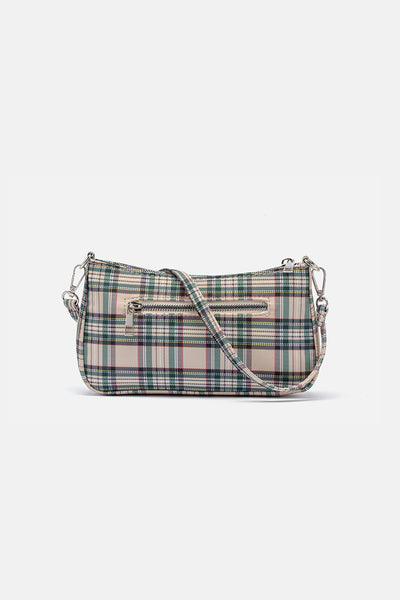 Tart Plaid Crossbody Bag