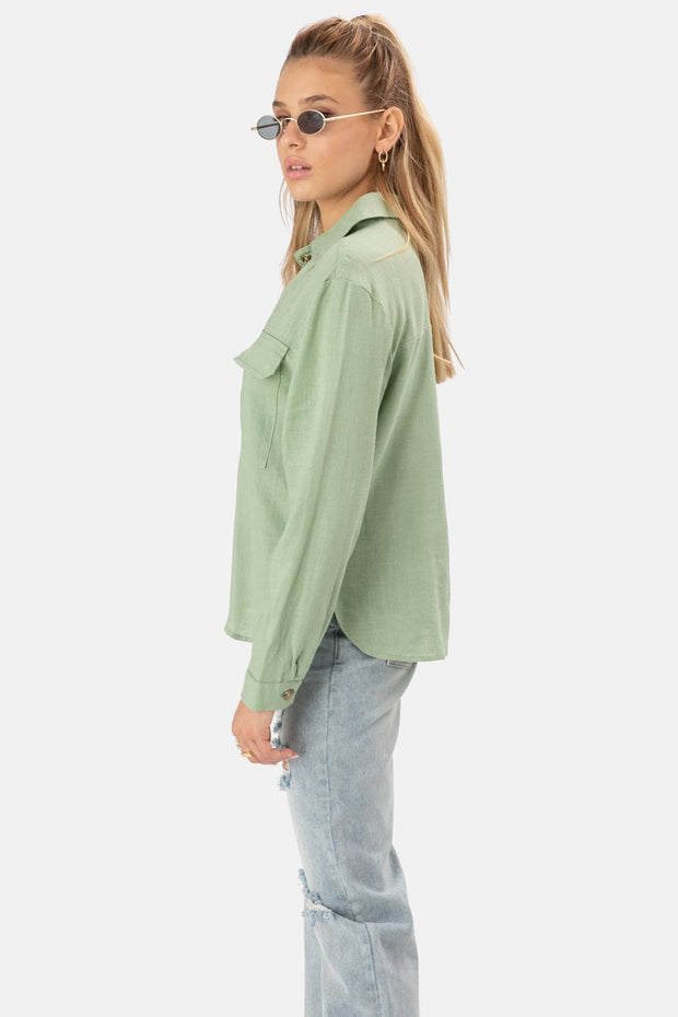 Gracie Button-Down Shirt