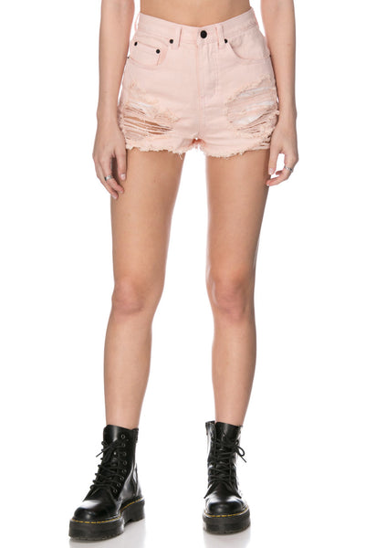 Lytro Ripped Denim Shorts