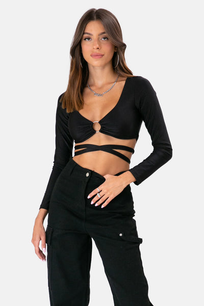 Ring Wrap Top