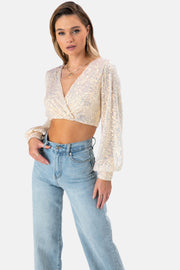 Roper Sequinned Top
