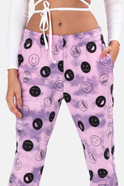 Smilez Tie-Dye Sweatpants