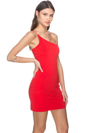 Brandin One Shoulder Dress