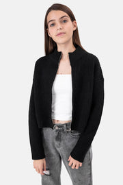 Zoe Zip-Up Cardigan