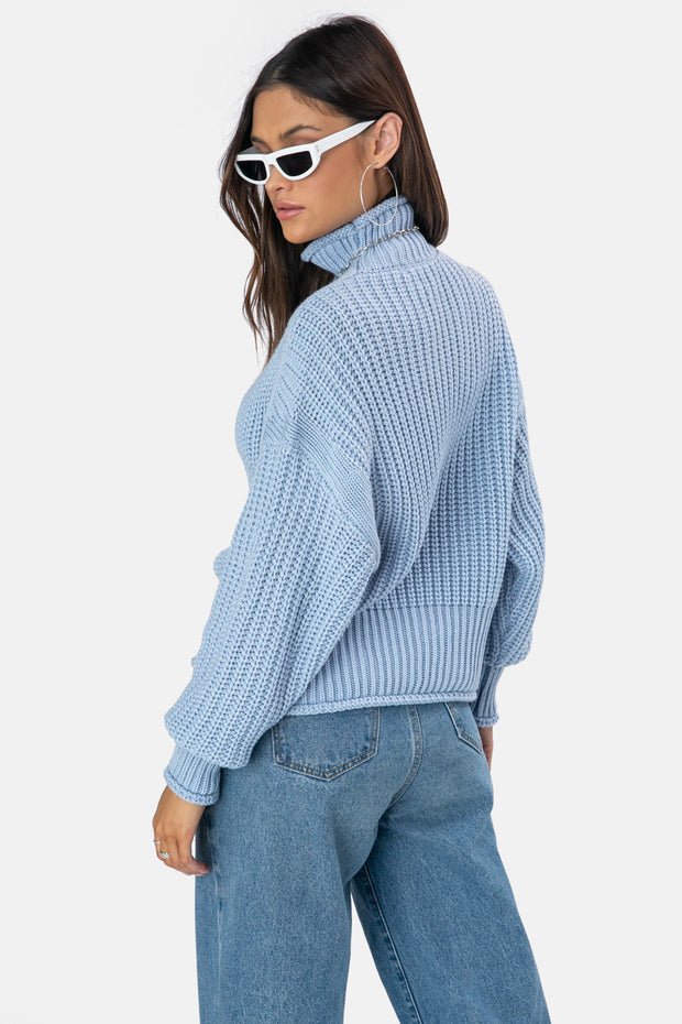 Hudson Turtleneck Sweater