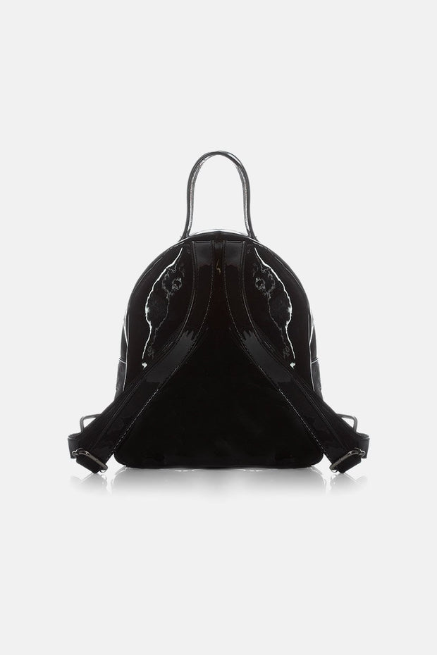 Glossy Mini Backpack