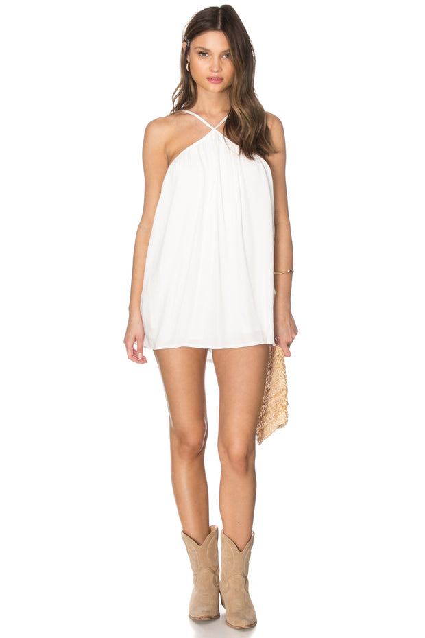 Carly Collar Romper with Pockets