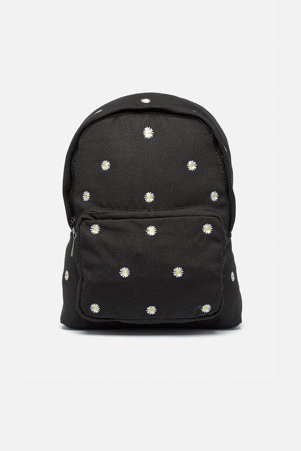 Lenny Flower Embroidery Backpack