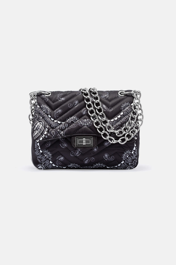 Bandana and Gourmet Chain Bag