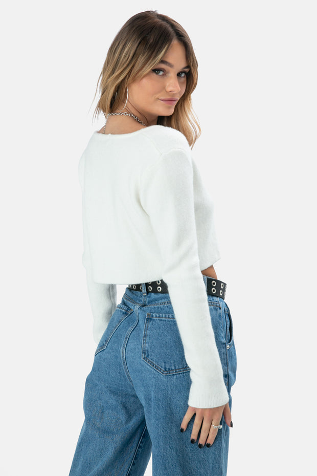 Travis Cropped Cardigan