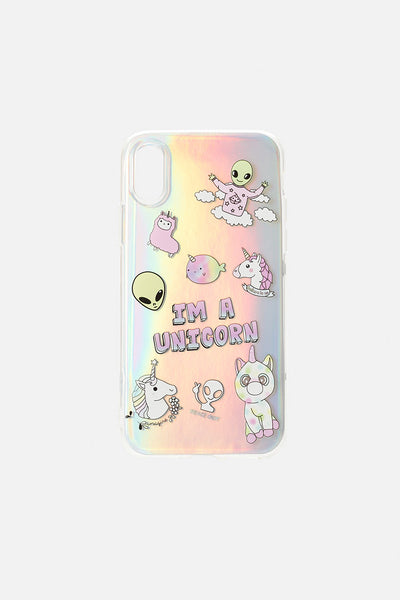 UNICORN Holographic iPhone Case Cover