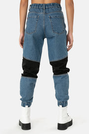Jagger Denim Cargo Pants