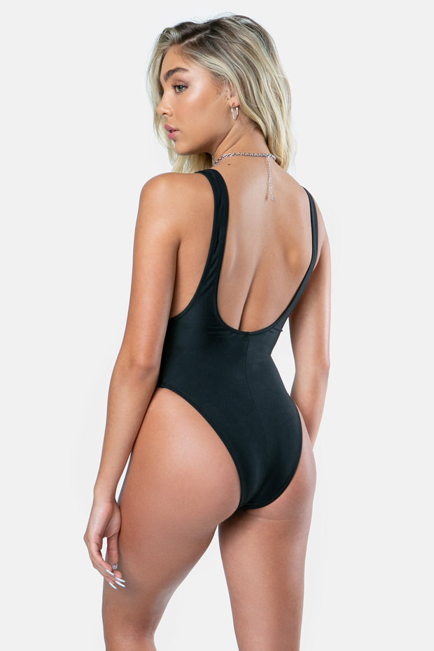 All-Black Swimsuit