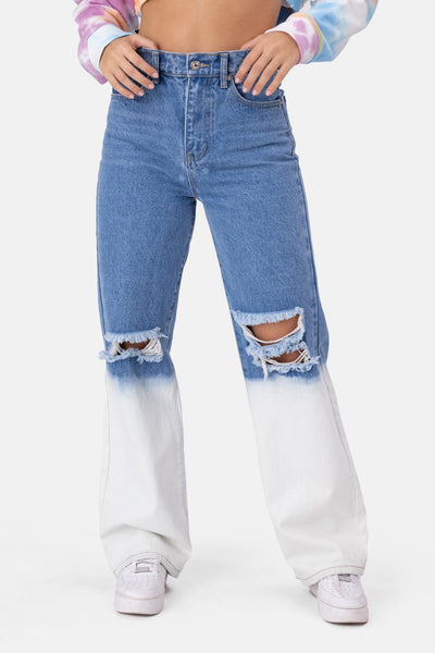 Venice Acid Wash Jeans | WIDE