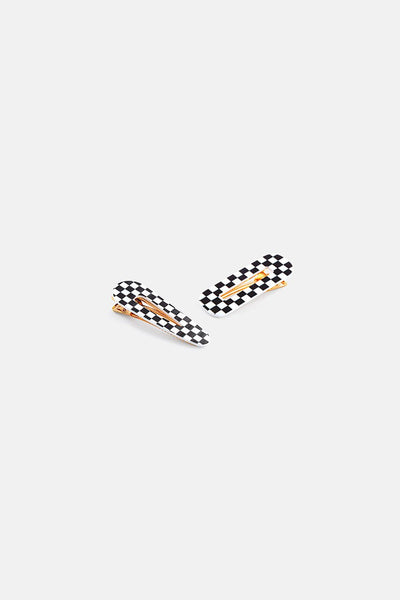 Squared 2-Pack Hair Clips