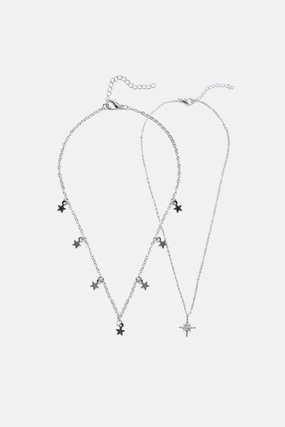 Starlight Pair of Necklaces