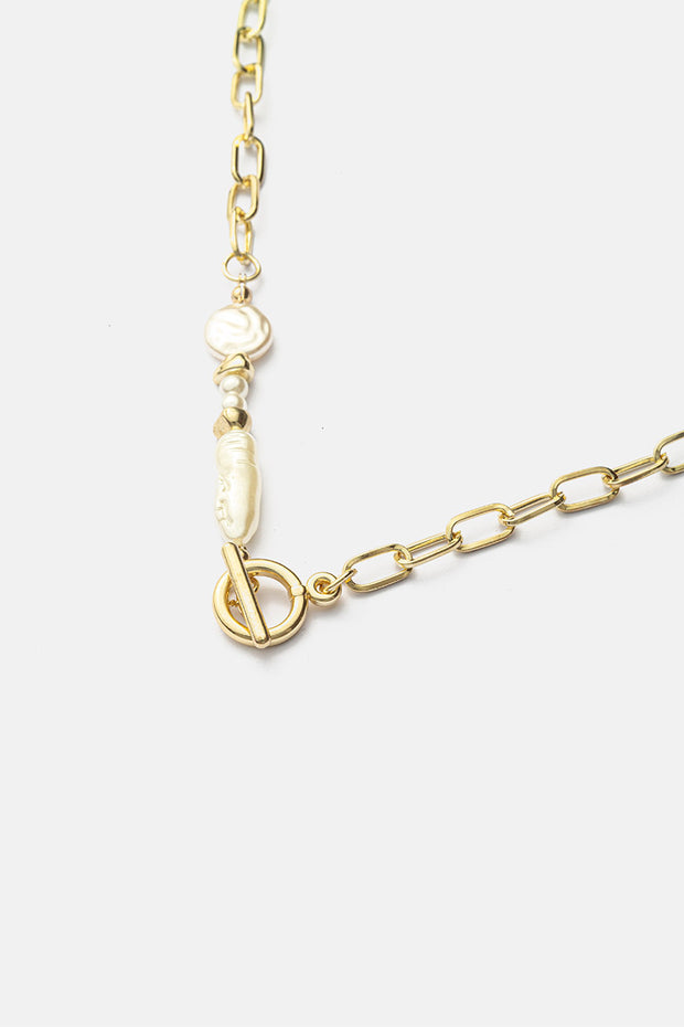 Ocean Chain Link Necklace