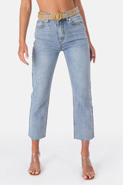 Carter Frayed Jeans | STRAIGHT
