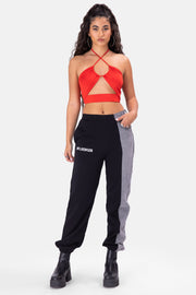 Torch Cut-Out Halter Top