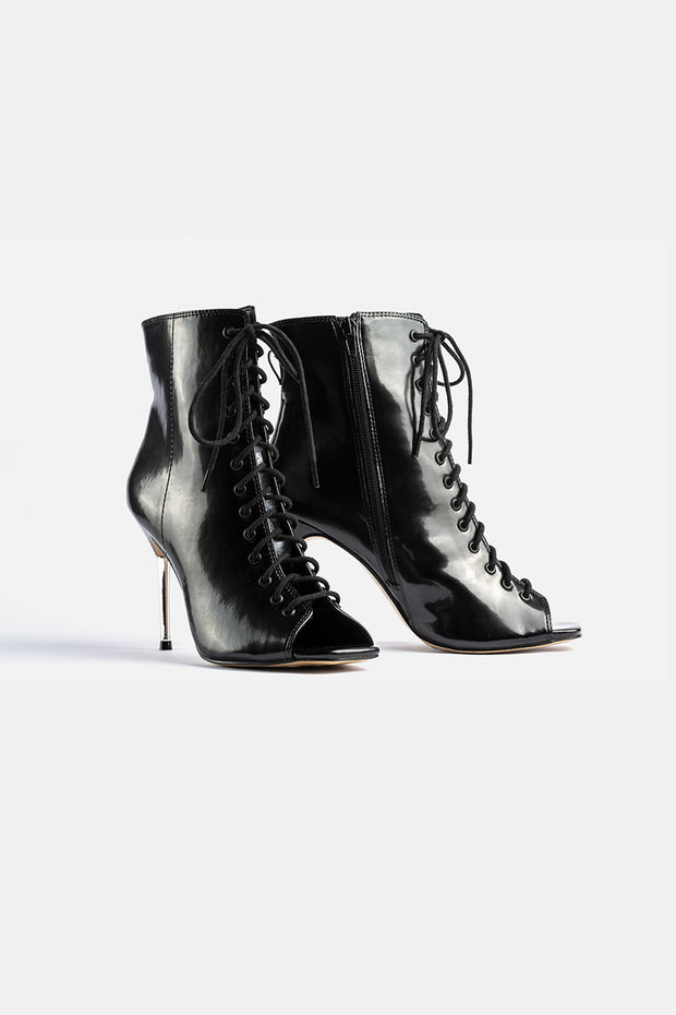 Roxanne Peep-Toe Stilletto Boot