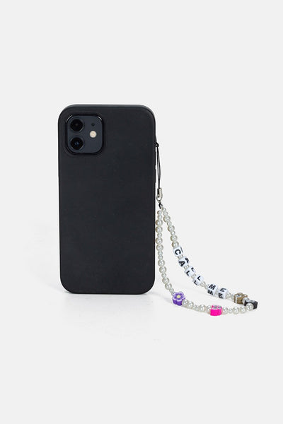 CALL ME Beaded Phone Chain