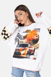 RACING Oversize Sweatshirt