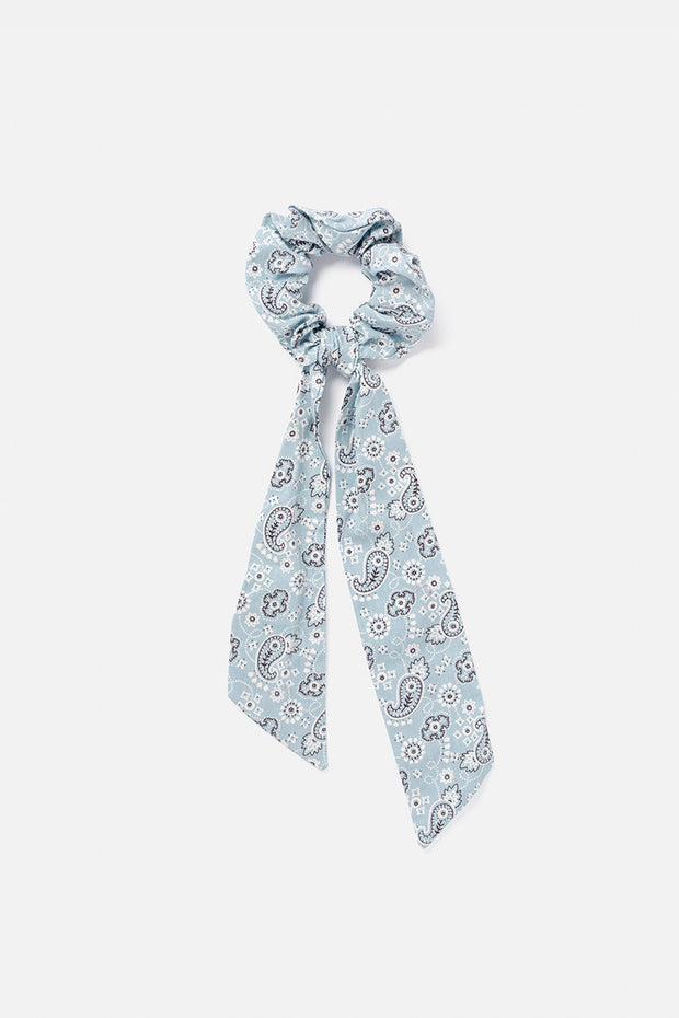 Paisley Scrunchie with Ties