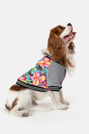 Tropic-Dog Baseball Jacket