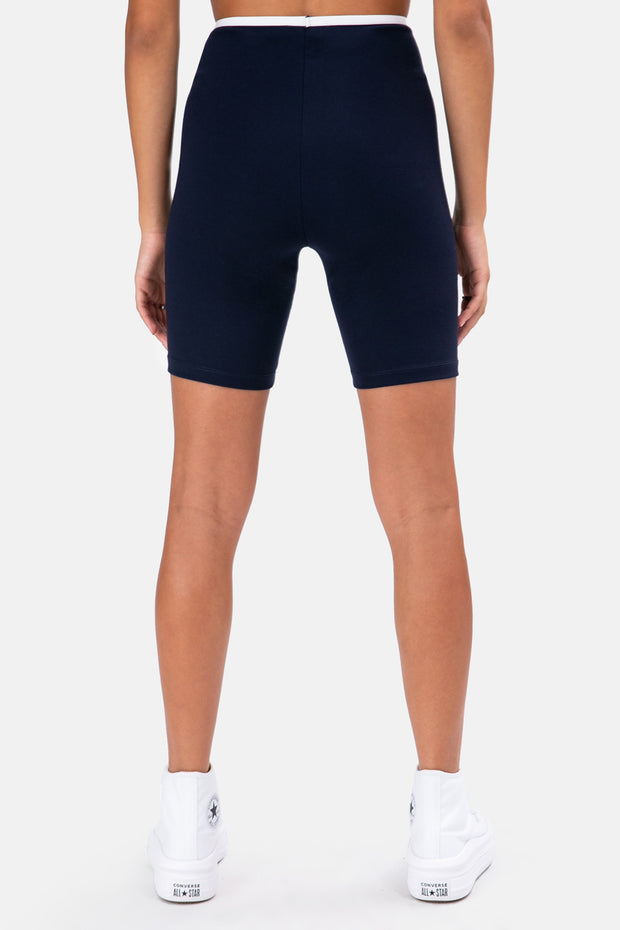 Romain Lined Biker Shorts