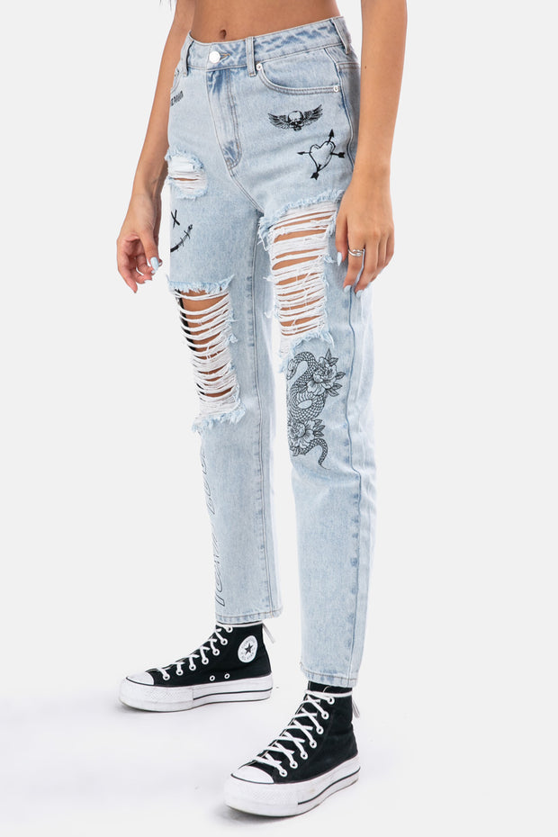 TOXIC Jeans | RIPPED