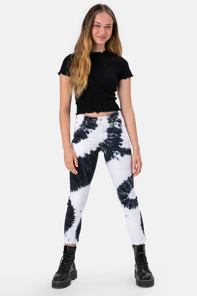 Courtney Tie-Dye Skinny Jeans