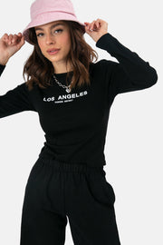 LA Long Sleeve Tee