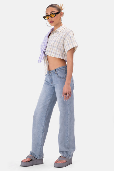 Grimes Low Rise Jeans | WIDE