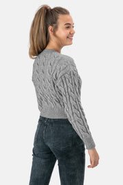 Cicely Cable Knit Cardigan