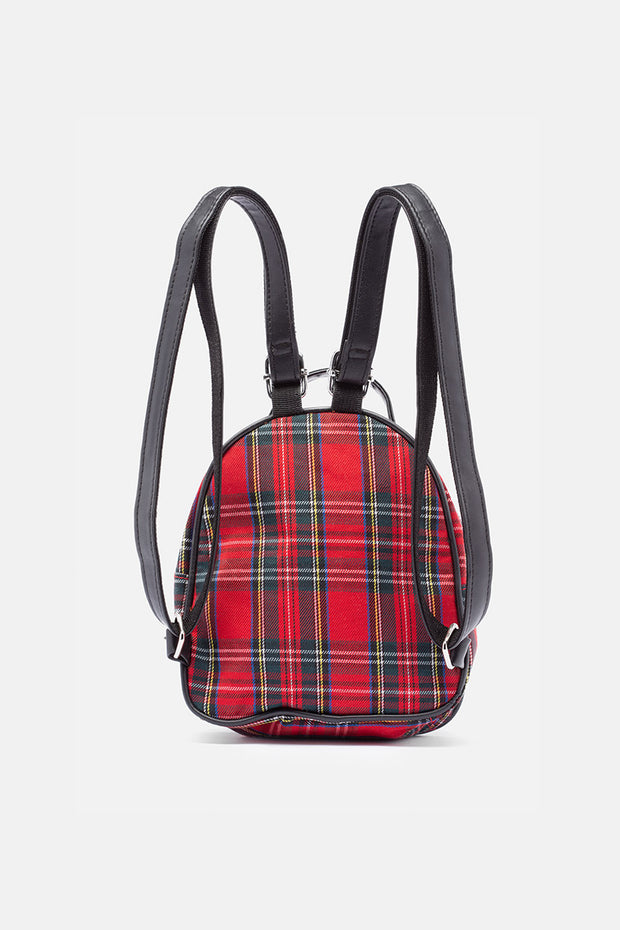 Lavigne Plaid Mini Backpack