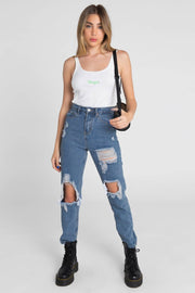 Raigon Ripped Jeans | MOM