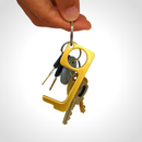 Zero Contact Keychain - Eco.Pegs