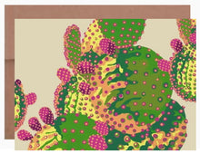 Load image into Gallery viewer, Prickly Pear ~ Card - Dranchak Studio