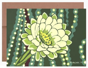 Moonflower ~ Card - Dranchak Studio