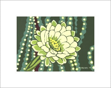 Moonflower ~ Ready to frame - Dranchak Studio