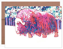 Load image into Gallery viewer, Bull Muskox ~ Card - Dranchak Studio