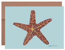 Load image into Gallery viewer, Starfish ~ Card - Dranchak Studio