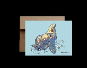 Stellar Sea Lion ~ Card